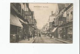 MONTARGIS RUE DOREE (CHEMISERIE TAILLEUR CHAMBRET . MAGASIN LIORET PUB SINGER  CHARCUTERIE ET ANIMATION ) 1917 - Montargis