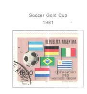 Argentina PO 1981 Coppa Calcio  Scott.1291 See Scan On Scott.Page - Usati
