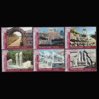 UN-GENEVA 2004 - Scott# 428a-f Heritage Sites Set Of 6 MNH - Genf - Büro Der Vereinten Nationen