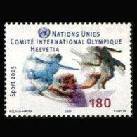UN-GENEVA 2004 - Scott# 433 Sports Set Of 1 MNH - Genf - Büro Der Vereinten Nationen
