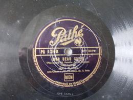 78T - Mon Beau Sapin Et Voici Noel Et O Douce Nuit Par Jean Planel - 78 Rpm - Gramophone Records
