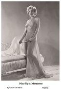 MARILYN MONROE - Film Star Pin Up PHOTO POSTCARD - P721-1 Swiftsure Postcard - Non Classés