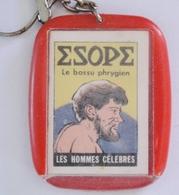 Keychain Mini BD Les Hommes Célèbres Caiffa Mokalux La Maison Du Café Esope - Porte-clefs