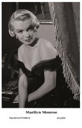 MARILYN MONROE - Film Star Pin Up PHOTO POSTCARD- Publisher Swiftsure 2000 (201/899) - Non Classés