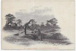. AFRIQUE  GUINEE BISSAU.  FONTAINE DES ENVIRONS DE BISSAU - Guinea-Bissau