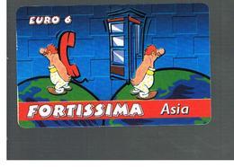 ITALIA (ITALY) - REMOTE -  FORTISSIMA - ASIA    - USED - RIF. 10942 - Schede GSM, Prepagate & Ricariche