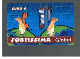 ITALIA (ITALY) - REMOTE -  FORTISSIMA - GLOBAL    - USED - RIF. 10942 - Schede GSM, Prepagate & Ricariche