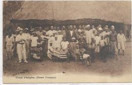 . AFRIQUE  GUINEE FRANCAISE. GROUPE D INDIGENES - French Guinea