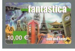 ITALIA (ITALY) - REMOTE - FANTASTICA - VIEWS, EIFFEL TOWER      - USED - RIF. 10943 - Italy