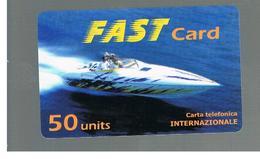 ITALIA (ITALY) - REMOTE - FAST    -  SPEEDBOAT 50 UNITS      - USED - RIF. 10944 - Schede GSM, Prepagate & Ricariche