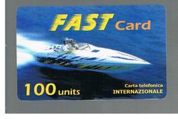 ITALIA (ITALY) - REMOTE - FAST    -  SPEEDBOAT 100 UNITS      - USED - RIF. 10944 - Schede GSM, Prepagate & Ricariche