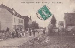 Appenans  Entrée Du Village  Route De L'isle   PRIX FIXE - France