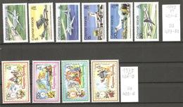 Caimans, Année 1979, Noël, Avions - Iles Caïmans