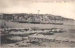 FR66 BANYULS SUR MER - Nd 41 - La Plage - Lavandières - Animée - Belle - Banyuls Sur Mer