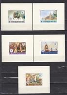 Upper Volta, 1976, 200 Years To USA, Lux Blocks, MNH** - Upper Volta (1958-1984)