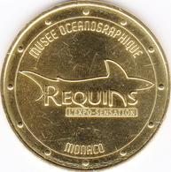98 MONACO MUSÉE OCÉANOGRAPHIQUE N°4 LA REQUIN MÉDAILLE MONNAIE DE PARIS 2018 JETON MEDALS TOKEN COINS - Monnaie De Paris