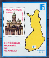MOZAMBIQUE, SG MS1189, FINLANDIA 88, ** MNH . (8B23) - Mozambique
