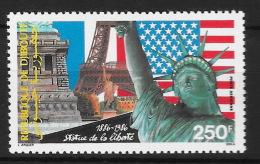 Djibouti 1986 -  Poste Aérienne PA, Neuf **, MNH  - Statue De La Liberté, Drapeau, Flag - Djibouti (1977-...)