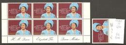 Caimans, Année 1980, 80ème Anniversaire De La Reine Mère - Iles Caïmans