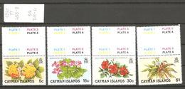 Caimans, Année 1980, Fleurs - Iles Caïmans