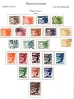 Autriche Poste Aérienne YT N° 12/31 Complet. Neufs * Et Oblitérés. B/TB. A Saisir! - Airmail
