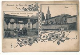 CHANVILLE - Souvenir De... - Carte En L'état, 2 Scans - Autres Communes
