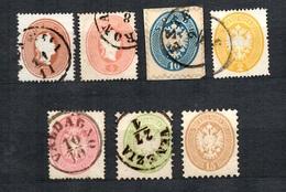 Lombardo-Vénétie Sept Classiques 1861/1864. Bonnes Valeurs. B/TB. A Saisir! - Lombardo-Vénétie