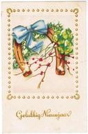Gelukkig Nieuwjaar, Happy New Year, Bonne Année, Hoefijzer, Horse Shoe (pk44415) - Nouvel An