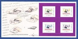 150e Anniversaire De La Mort De Boucher De Perthes. COLLECTOR De 4 Timbres Autocollants Neuf** (non Plié). - Collectors