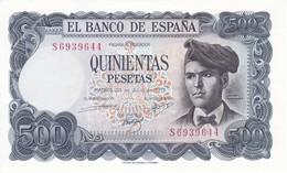 BILLETE DE ESPAÑA DE 500 PTAS DEL 23/07/1971 SERIE S  SIN CIRCULAR-UNCIRCULATED - [ 3] 1936-1975 : Regency Of Franco