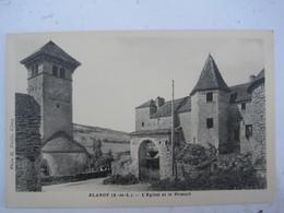 Blanot - L 'Eglise Et Le Prieuré - Autres Communes