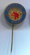 BOWLING - KK Jedinstvo Sisak, Croatia, Vintage Pin, Badge, Abzeichen, Enamel - Bowling