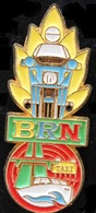BRN - MOTO POLICE DE GENEVE - GENFER POLIZEI - TAXI - BATEAU - AUTOROUTE -                 (ROSE) - Police