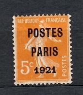 France Préoblitérés YT N° 27 Oblitéré. B/TB. A Saisir! - 1893-1947