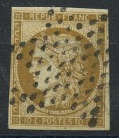 France (1849) N 1 (o) Signé - 1849-1850 Ceres