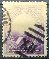 Ecuador 1911 President Jose Maria Urvina ERROR FADED MISSING HEAD AND COLOR - Ecuador