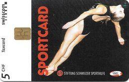 Swisscom: 05/98 Sportcard Wasserspringen - Switzerland