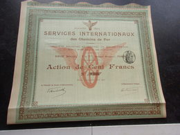 SERVICES INTERNATIONAUX DES CHEMINS DE FER (1900) - Shareholdings