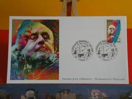 FDC> Stéphane Grappelli 1908-1997> 13.7.2002 (75) Paris > 1er Jour Coté 4,80€ - FDC