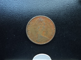 FIDJI : 1 CENT  1969   KM 27    TTB - Fidji