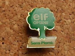Pin's - ELF OPTANE - SANS PLOMB - Fuels