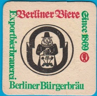 Berliner Bürgerbräu Berlin - Köpenick ( Bd 1641 ) - Beer Mats
