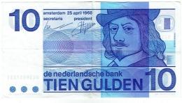De Nederlandsche Bank. Tien Gulden. 10 Gulden. 25 April 1968. - [2] 1815-… : Kingdom Of The Netherlands