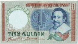 De Nederlandsche Bank. Tien Gulden. 10 Gulden. 23 Maart 1953. - [2] 1815-… : Kingdom Of The Netherlands
