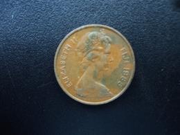 FIDJI : 2 CENTS  1985  KM 28   TTB+ - Figi