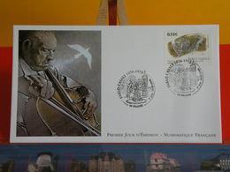 FDC> Pablo Casals 1876-1973> 29.7.2006 (66) Prades > 1er Jour Coté 4€ - FDC