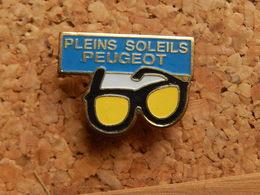 Pin's -  PLEINS SOLEILS PEUGEOT - Peugeot