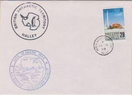 British Antarctic Territory 1989 10J. Antarctic Heli Flight, Ca 28 Ja 89 Halley (38402) - Brits Antarctisch Territorium  (BAT)