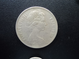 FIDJI : 20 CENTS  1975  KM 31   TTB - Fidji