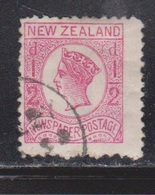 NEW ZEALAND Scott # J17 Used - Postage Due - 1855-1907 Crown Colony